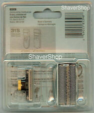 BRAUN 31S 5000/6000 CONTOUR SERIES 3 Replacement Shaver/Razor FOIL+CUTTER BLOCK