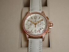 Jaeger LeCoultre Master Compressor Chronograph Ladies' Rose Gold Diamond Limited