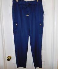$130 Michael Kors True Navy 100% Lyocell Cargo Pants.....Large