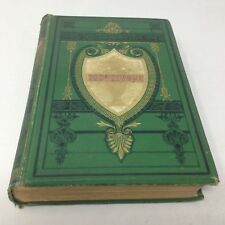 Works of Oliver Goldsmith: Vicar of Wakefield etc 1880s DECORATIVE CLOTH BINDING