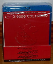 Evangelion 1.11-2.22-3.33 You Are-You Can (not) Redo-Advance Blu-Ray New R2