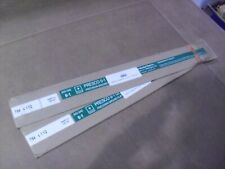 """New listing Two ! Precision Marshall 7/64"""" x 1-1/2"""" x 18"""" Oil Hardening Ground Stock 04315"""