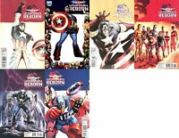 Captain America: Reborn #1-4 Incentive Variants (2009-2010) Marvel - 6 Comics