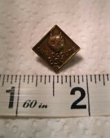 VINTAGE  BSA BOY CUB SCOUTS Pin WITH WOLF HEAD