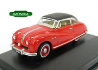 BNIB OO GAUGE OXFORD 1:76 76ATL005 Austin Atlantic Saloon Ensign Red Car