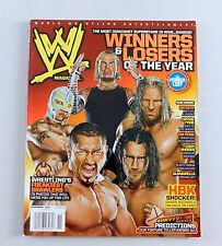 Jeff Hardy Rey Mysterio CM Punk HHH Nov 2008 Wrestling Magazine Raw WWE WWF