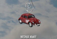 LOST TV Show John Locke Volkswagen Beetle Bug Christmas Ornament VW Classic