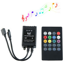 LED Music IR Controller 20key Remote Sound Sensor withut battery For 3528 5050