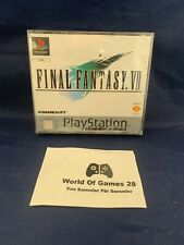 Sony PlayStation 1 PS1 | Final Fantasy VII 7 | Neu & Sealed | Platinum PAL