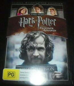 Harry Potter And The Prisoner Of Azkaban (Austr Region 4 R4 Widescreen) DVD NEW