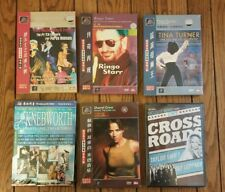 Lot of 6 New Sealed Concert DVDs Paul McCartney, Starr, Tina Turner, Knebworth