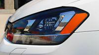 B019 US Style Scheinwerfer Aufkleber Folie Set für VW Golf 7 MK7 Xenon GTI GTD