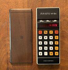 Vintage Aristo M64 Calculator - Tested Working