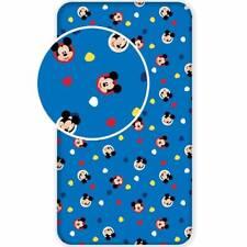 Drap housse 90 x 200 cm Mickey Disney 100% coton