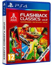 PS4 JUEGO ATARI FLASHBACK Classics Vol. Volumen 2 con 50 Jugar Producto NUEVO