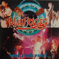 LES NAUFRAGES : MOI J'SUIS PARTI (REMIX + 7 LIVE ! - [ PROMO CD SINGLE ]
