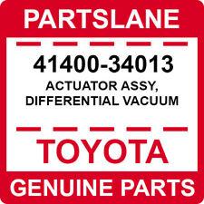 41400-34013 Toyota OEM Genuine ACTUATOR ASSY, DIFFERENTIAL VACUUM