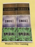 DC Marvel Heroclix Barrier Smoke Special Tokens NEW