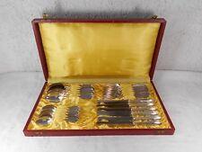 WMF Mod. No. 2200 Besteck 6 Personen 800 Silber Punze Halbmond/Krone ☾♔