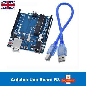 1 x Arduino Uno Board R3, Microcontroller Board ATmega328 with USB CABLE