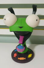 INVADER ZIM GIR CHARACTER TOY PLASTIC FIGURE 27CM TALL! SUPER COOL RARE!