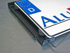 AluFixx Bike Kennzeichenhalter schwarz matt eloxiert