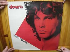 The Doors Poster Greatest Hits Album Jim Morrison Face Shot 2 Two Sided