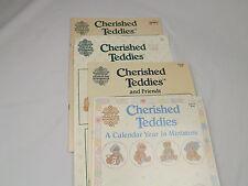 4 Gloria & Pat Cherished Teddies Cross Stitch Patterns Charts 1990's 50+ Designs