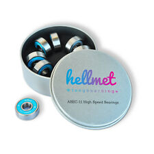 HELLMET High Speed Kugellager - ABEC 11 Bearings - Skateboard Longboard Fidget