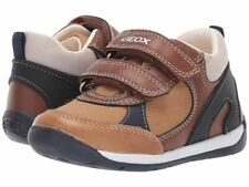 Geox Each Caramel & Navy 1st Casual Trainer Shoe REDUCED PLUS FREE UK P&P