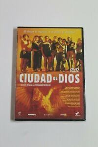 CIUDAD DE DIOS - DVD Castellano y Portugues  NUEVO EN BLISTER.