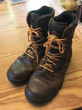 HERMAN SURVIVORS SYMPATEX BROWN LEATHER HIKING BOOTS MOUNTAINEERING MENS 8.5 W