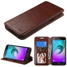 Housses et coques anti-chocs marron Samsung Galaxy J pour téléphone mobile et assistant personnel (PDA)