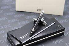 Montblanc Starwalker Black Platinum Fineliner / Rollerball Pen