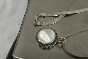 13.6 Gram Silver Necklace 925 Pendant Jewelry For wear.