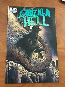 Godzilla in Hell #1 IDW Comics 2015 NM