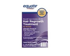 Equate Women's Hair Regrowth Topical Solution 2% Minoxidil. 3 Months Supply