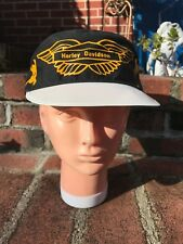 Vintage Harley Davidson Painters Cap Hat, Unworn New Old Stock