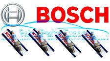 4 BOSCH PLATINUM SPARK PLUGS for NISSAN PLYMOUTH PONTIAC SAAB SATURN SUBARU NEW