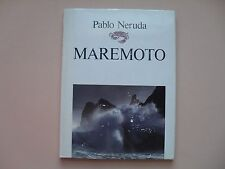 Maremoto by Pablo Neruda - Illustrated Poetry - Pehuen Editores, Chile, 1991