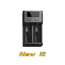 Nitecore New i2 Intellicharge 2 Charger for Li-ion/IMR/Ni-Cd/Ni-MH Battery 18650
