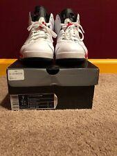 Jordan 6 White Varsity Red