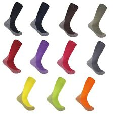 BAMBOO 3G CHARCOAL THICK WORK SOCKS MENS WOMENS KILLS ODOURS AND ABSORDS TOXINS