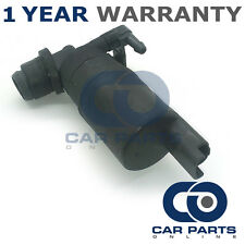 FOR VAUXHALL VIVARO (2001-2015) FRONT SINGLE OUTLET WINDSCREEN WASHER PUMP