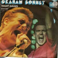 disco 45 GIRI Graham BONNET NIGHT GAMES - OUT ON TH WATER