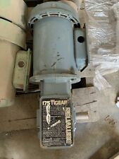 Dodge 175 Tigear Relialube Motor 1.13 Hp 56/175-15 *not tested* (yellow)