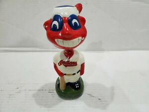 Cleveland Indians Chief Wahoo Bobblehead Vintage