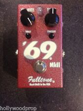 Fulltone 69 MkⅡ Fuzz Guitar Effects Pedal Used Excellent Cond - FREE US shipping