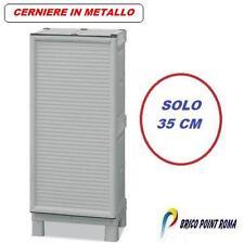 ARMADIO BOX MOBILE MOBILETTO ARMADI IN RESINA PER ESTERNO BALCONE BAULE 35 cm