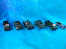 Lot de 8 véhicules militaires RMM Roskopf / Roco Minitanks